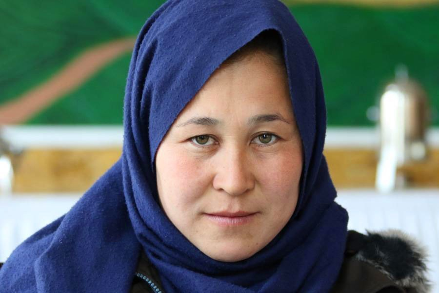 Fezeh Rezaie is one of nineteen female deminers who made Bamyan the first mine-free province in Afghanistan.