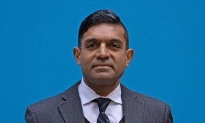 Gian Gandhi, COVAX Coordinator in UNICEF Supply Division.