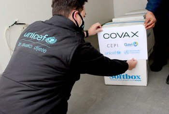 The first COVID-19 vaccine doses were sent to Bosnia and Herzegovina in March.