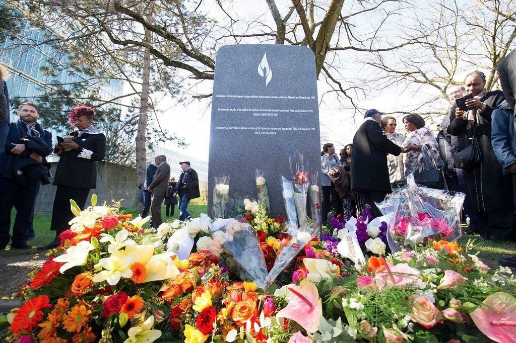Un monument à la mémoire du génocide de 1994 contre les Tutsis au Rwanda est dévoilé aux Nations Unies à Genève. (archive)in