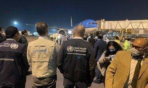 وصول شحنة تحتوي على 854,400 جرعة من لقاح استرازينيكا المضاد لكوفيد-19، عبر مرفق كوفاكس إلى مصر.