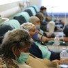 Mujeres con cáncer de mama reciben tratamiento gratuito en el Instituto Nacional de Oncología de la Ciudad de México.