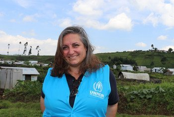 Jackie Keegan, UNHCR head of office in Goma, Democratic Republic of the Congo.