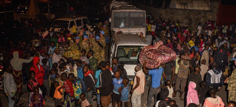 Maelfu ya watu wamevuka mpaka kuelekea Rwanda kutoka Goma kufuatia mlipuko wa mlima Nyiragongo.