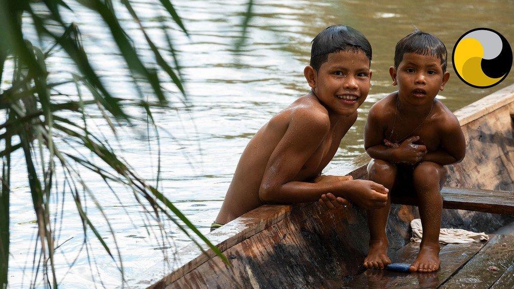 Watu wa asili kutoka Amazon
