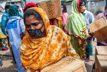 यूएन विकास कार्यक्रम ने कोविड-19 के दौरान बांग्लादेश में परिवारों को वित्तीय सहायता प्रदान की है.