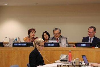 联合国负责经济和社会事务的副秘书长刘振民今天在联大第74届会议第三委员会会议致开幕辞。