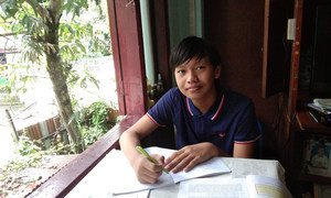 Thaw Lay is a Grade 10 high school student from Yangon, Myanmar.