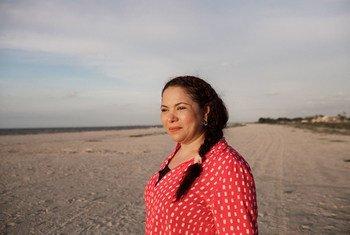 Mayerlín Vergara Pérez, que trabaja con niños y niñas explotados sexualmente, ha ganado el premio Nansen que otorga ACNUR