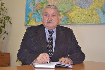 Александр Голиусов - и.о.Регионального директора ЮНЭЙДС