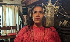 """La cantante mexicana Susana Molina, conocida por su nombre artístico como """"Obeja Negra"""""""