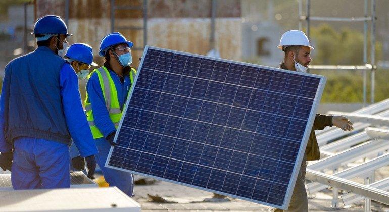 """""""增长势头""""使2021年成为可持续能源全球行动年"""