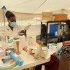 Unfpa instalou na província 12 tendas de saúde para permitir o acesso seguro aos serviços de saúde sexual e reprodutiva para proteger mais de 70 mil mulheres e meninas