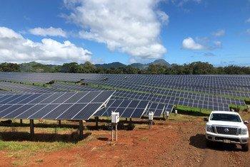 Генсек ООН считает необходимиым как можно скорее перевести экономику на возобновляемые источники энергии.