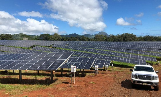 The Kauai Island Utility Cooperative in Hawaii is generating a significant amount of the island's electricity from solar energy.