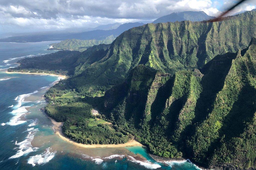 太平洋上的夏威夷群岛是世界上最遥远的地方之一。