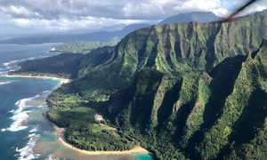 The Hawaiian archipelago in the Pacific is one of the remotest parts of the world.