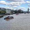 Вид на реку Темзу в Лондоне.