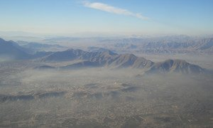 The landscape on the southern outskirts of Kabul, Afghanistan. (file photo)