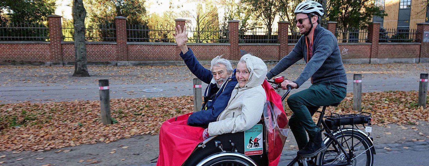 Older people do not have to give up cycling.