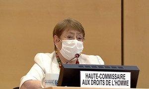 Alta comissária Michelle Bachelet disse que impactoda Covid-19 na saúdeestá longechegar ao fim