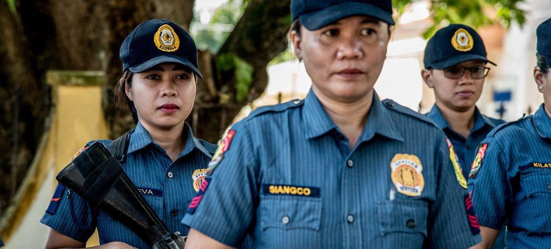 今年2月,联合国妇女署亚太区走访菲律宾锡基霍尔岛玛丽亚地区,一座全由女性警员组成的警察局。