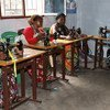 The UN Trust Fund in support of victims of sexual exploitation and abuse has supported women in the Democratic Republic of the Congo receive vocational trainings like sewing.