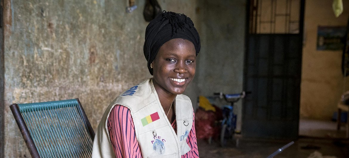 Every country counts on its youth. When youth tremble, the world crumbles. - Fatoumata Tamboura, 15, a child journalist, at Kaoural FM, a community radio in the volatile central region of Mopti.