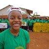 Ellen Chilemba, fundadora e CEO da Tiwale, uma organização comunitária liderada por jovens no Malauí.