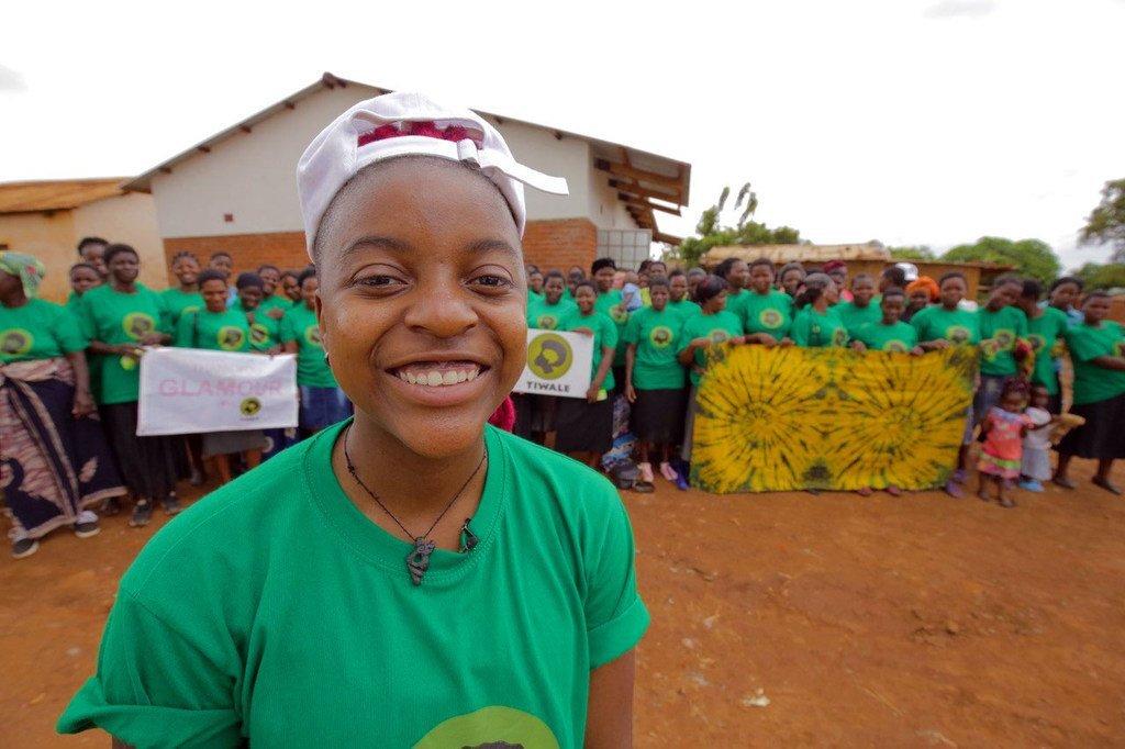 Ellen Chilemba, Mwanzilishi na Mkurugenzi Mtendaji wa Tiwale, shirika linaloongozwa na vijana nchini Malawi.