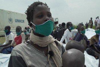 Anurith, mkimbizi kutoka DRC akisaka hifadhi Uganda.