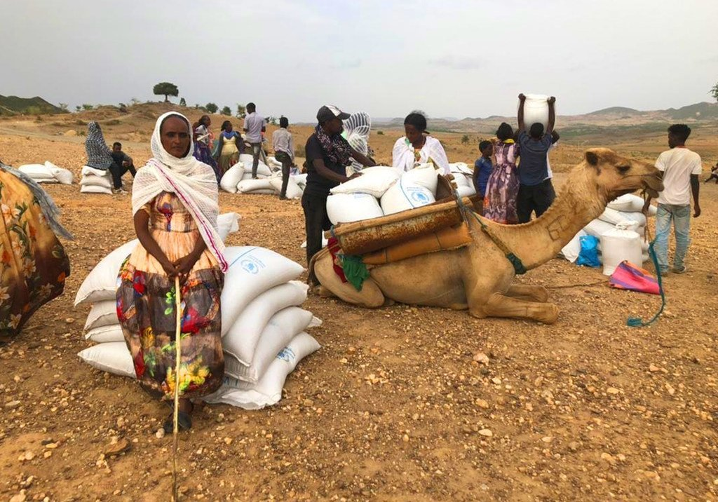 WFP imeanza tena operesheni zake za kusambaza chakula jimboni Tigray, Ethiopia baada ya kusitisha kutokana na mashambulizi