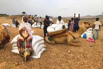 Le PAM a repris ses opérations dans la région du Tigré en Ethiopie.