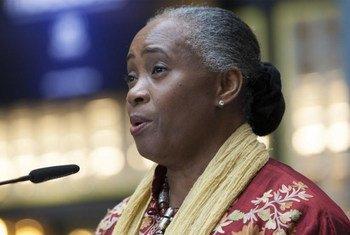 Барбара Хендрикс - посол доброй воли УВКБ ООН.