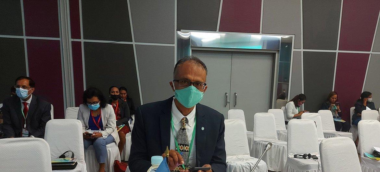 Roy Trivedy, coordenador residente das Nações Unidas em Timor-Leste