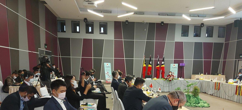 Reunião dos Parceiros de Desenvolvimento de Timor-Leste recentemente organizada pelo governo em Díli