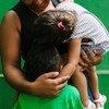 La vie quotidienne dans un refuge pour réfugiés et demandeurs d'asile à Tapachula, Mexique, le 28 septembre 2019.