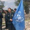Eliza Paloma Millán, que tiene más de 25 años de servicio en el ejército mexicano, cree en la importancia de tener cada vez más mujeres en las misiones de paz