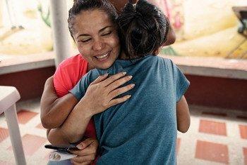 Mayerlín Vergara, defensora de los derechos de la niñez en Colombia y ganadora del premio Nansen 2020.