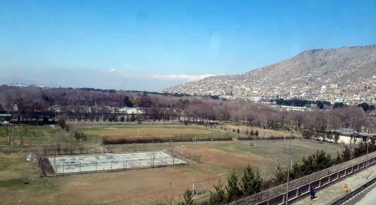 مشهد من العاصمة الأفغانية كابول