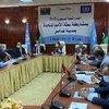 秘书长利比亚问题代理特别代表斯蒂芬妮·威廉姆斯参加了在利比亚加达摩斯举行的联合军事委员会(5 + 5)会议。 这是2020年10月23日在日内瓦签署停火协议后联合军事委员会的第一次会议。