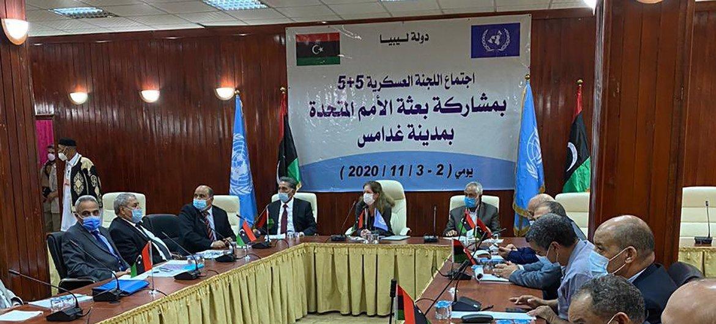 El Comité Militar Conjunto de Libia se reúne en Ghadames.