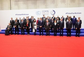 Secretary General António Guterres at COP25.