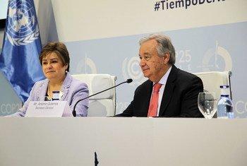 """Обращаясь к участникам конференции по климату в Мадриде, Генеральный секретарь ООН Антониу Гутерриш призвал ихих встать на """"путь надежды"""" и не допустить климатической катастрофы"""