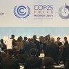 La Conférence des Nations Unies sur le climat (COP25) à Madrid, la capitale de l'Espagne