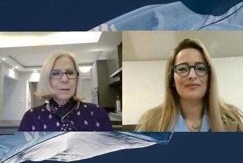 حوار مع السفيرة هيفاء أبو غزالة، الأمينة العامة المساعدة، ورئيسة قطاع الشؤون الاجتماعية بجامعة الدول العربية.