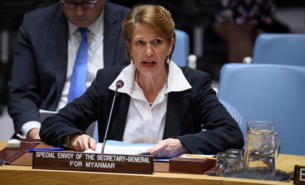Christine Schraner Burgener, de la Suisse, Envoyée spéciale du Secrétaire général pour le Myanmar (photo d'archives).