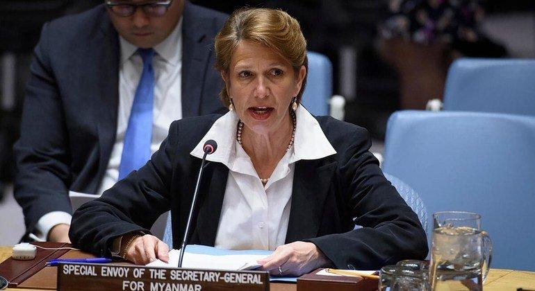Christine Schraner Burgener, Special Envoy for Myanmar (file photo).