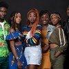 Les acteurs de la série Shuga Babi. La saison 2 s'addresse aux jeunes et diffuse des messages de santé et de société