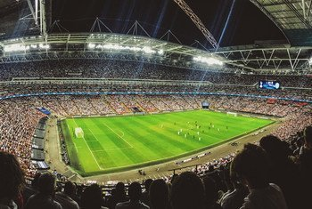 Estádio de Wembley, em Londres, no Reino Unido